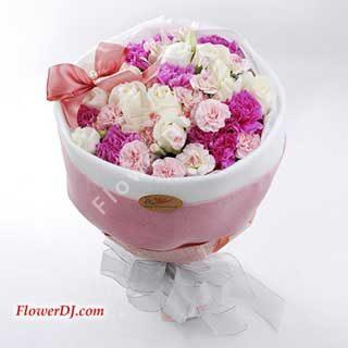 母親節送花-花道家flowerdj購物體驗