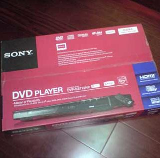 SONY DVP-NS718HP HDMI DVD播放器 開箱照