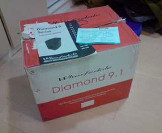 wharfedale diamond 9.1 喇叭-5600元惜售