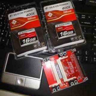 廣穎silicon power 400x的CF卡不適合作偽SSD-測試數據圖