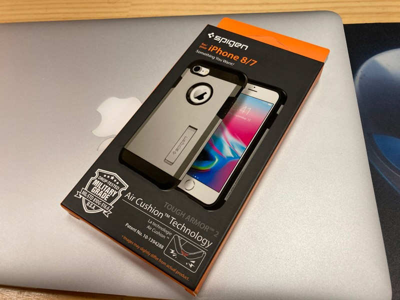 spigen tough armor 2 盒照