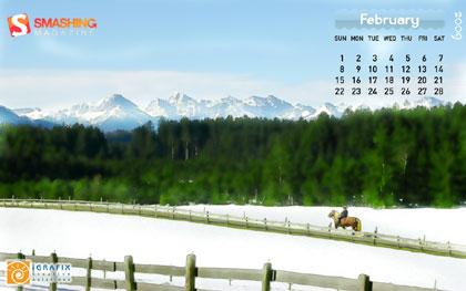 超精美桌布日曆3