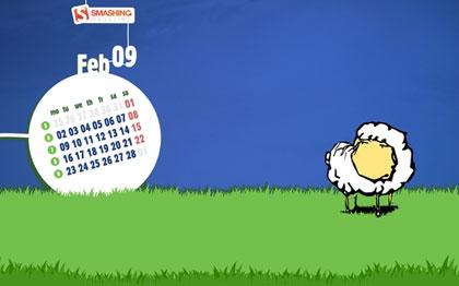 超精美桌布日曆5