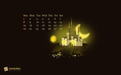 超精美桌布日曆6