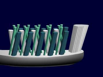歐樂B多動向牙刷x刷牙方法