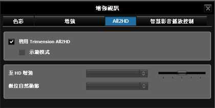 windvd all2hd 倍頻功能 dvd影片升級