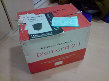 wharfedale diamond 9.1 喇叭-裝箱完成