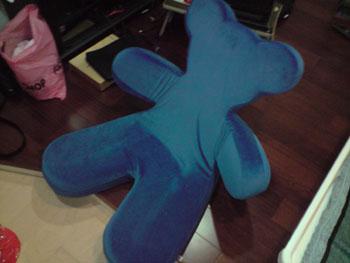 IKEA熊熊扶手椅折疊2