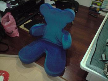 IKEA熊熊扶手椅折疊3